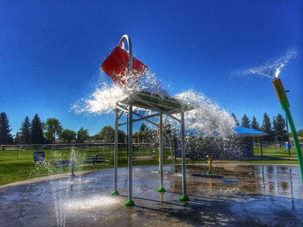Spray Park Open Daily 10am-9pm