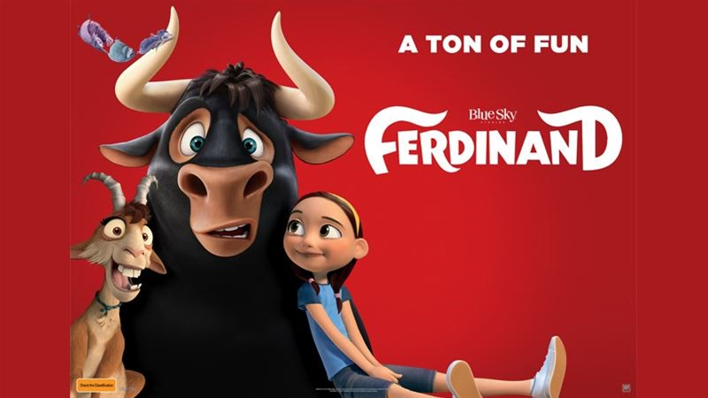 Free screening of Ferdinand April 27 - Popcorn included!