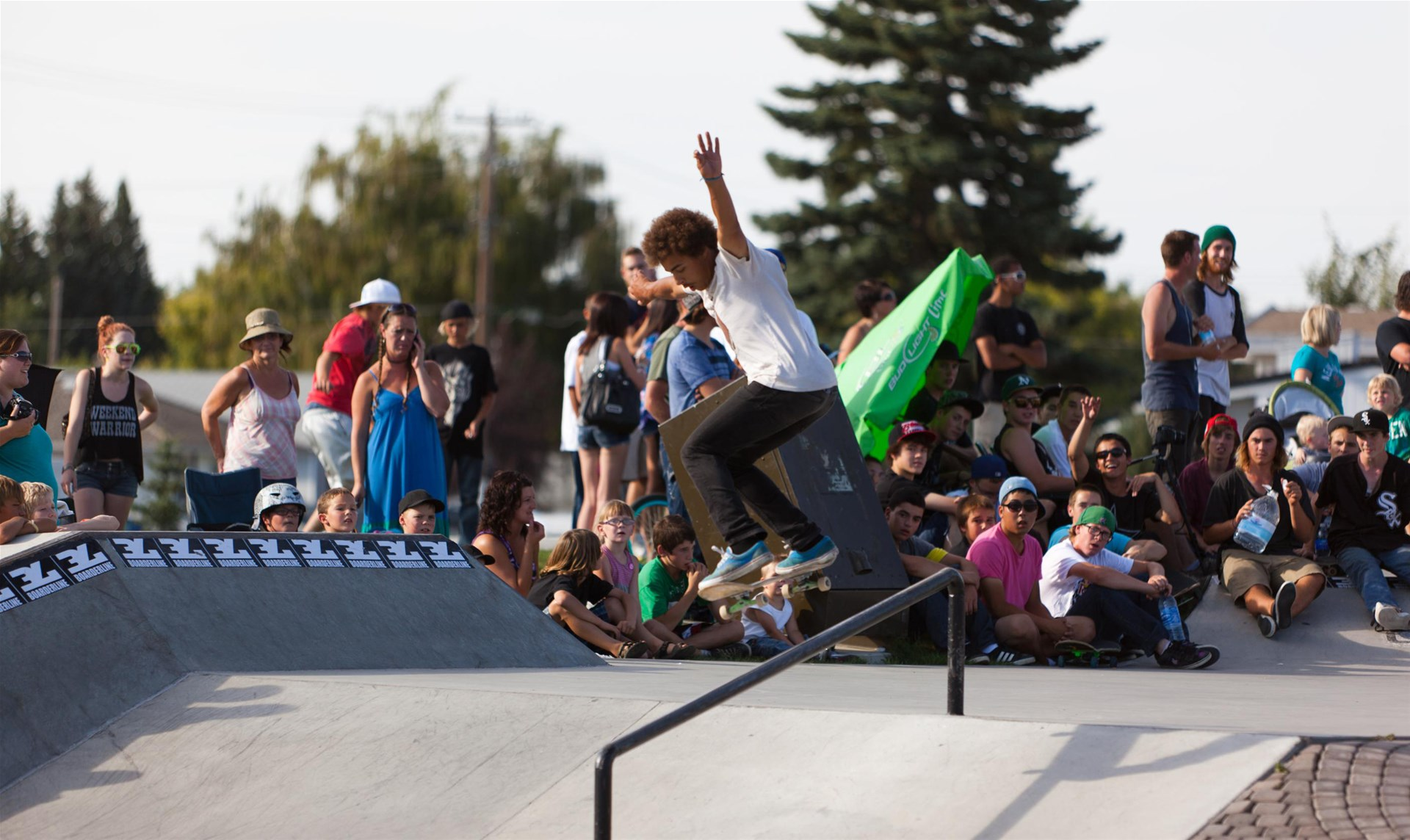 Taber Skate Park offers world class design